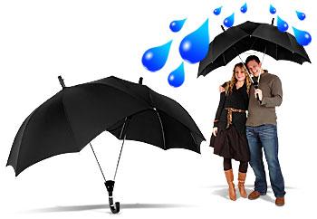 Супер-зонт для двоих